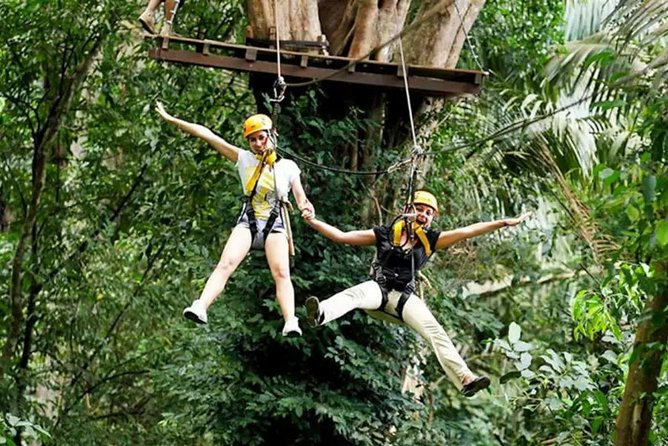 Flying Hanuman Zipline Adventure from Phuket