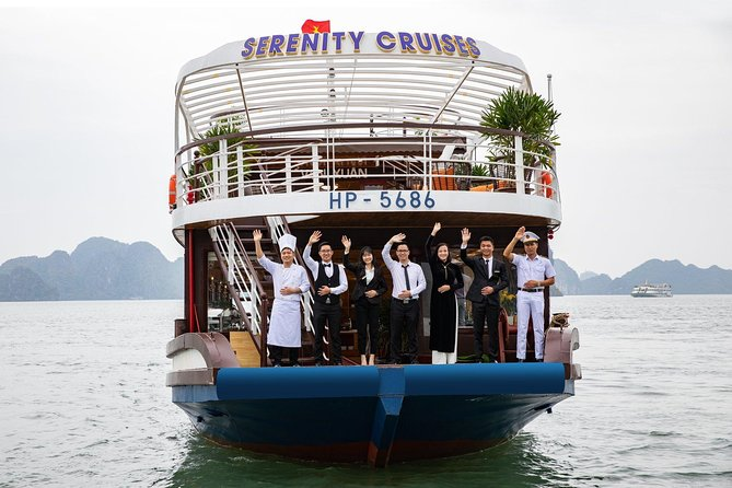 Serenity Day Cruise- Luxury Day Tour into Ha Long Bay-Lan Ha Bay (Buffet Lunch)