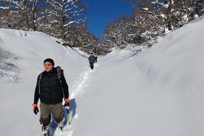 Daily winter snowshoe hiking tour to Teghenyats monastery