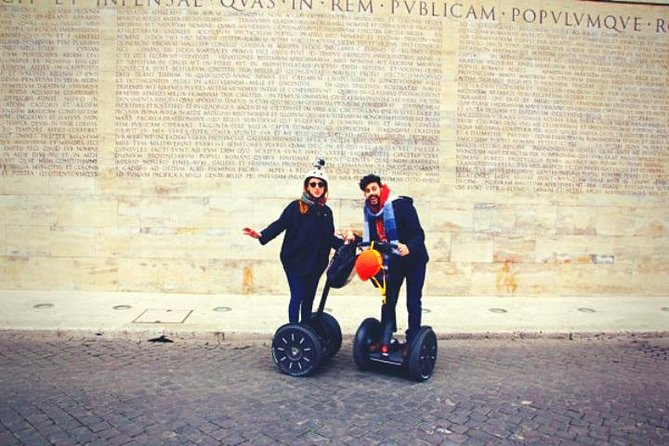 ROME: Discover the city in a funny Segway guided tour (3 paths to choose)