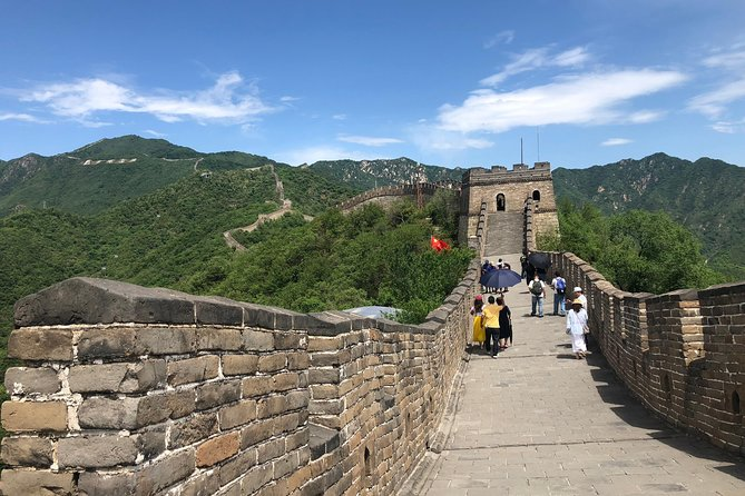 Layover Self-Guide Tour to Mutianyu Great Wall with English Speaking Driver