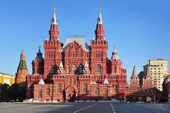 Private Moscow City Center Walking Tour + Metro Tour With a Certificated Guide
