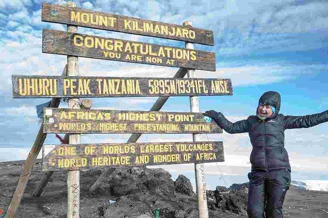 6 Days Mount Kilimanjaro Trekking via Machame Route