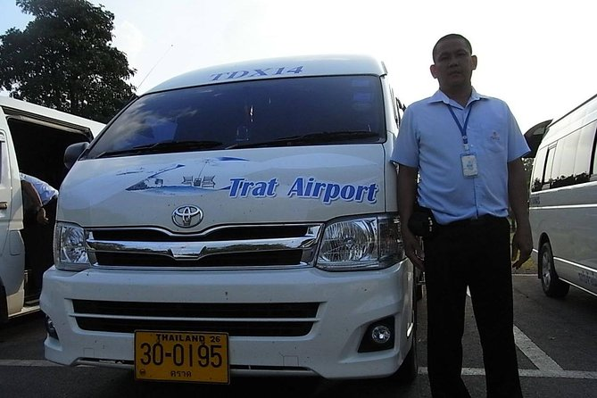 Trat Airport: Shared Transfers to/from Koh Chang with Ferry