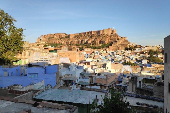 Blue city heritage walk and Mehrangarh fort visit