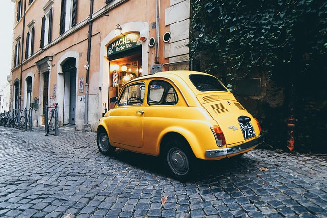 ROME LUXURY TOURS: Vintage Fiat 500 experience self-driving or with driver