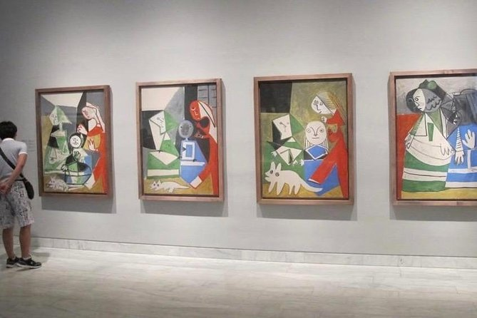 Picasso & art experience: Walking private tour