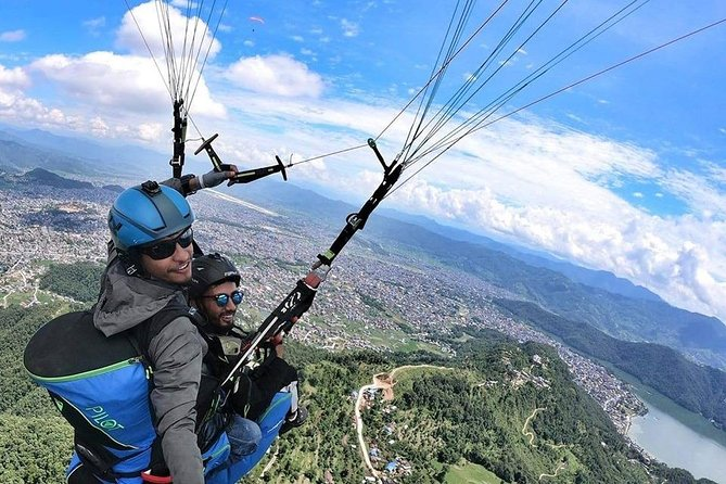 Paragliding 20-30 Minutes Flight.