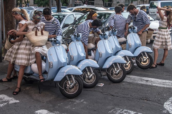 ROME LUXURY TOURS: Ride a Vespa in the city self-driving or with a driver