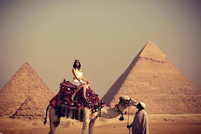 Camel Ride or Horse around the Pyramids photo 1