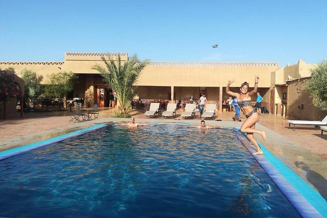 3-days Private Tour Marrakech to Fes via desert Ait Ben Haddou Ouarzazate