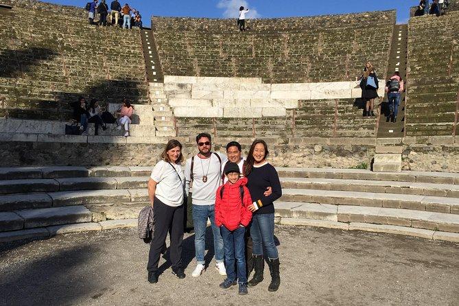Pompeii&Vesuvius: Full Day tour with your Archaeologist