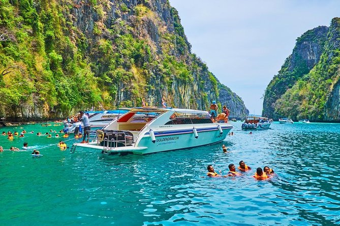 Full-Day Phi Phi Islands Sightseeing Tour with Lunch