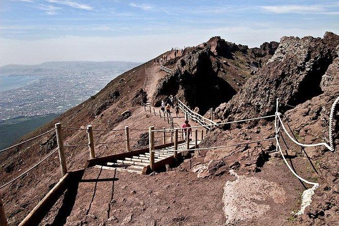 Trip to Vesuvius, Herculaneum and Pompeii from Naples or Sorrento