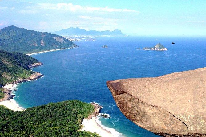Telegraph Stone Hike and Wild Beaches Moderate Trail from Rio de Janeiro