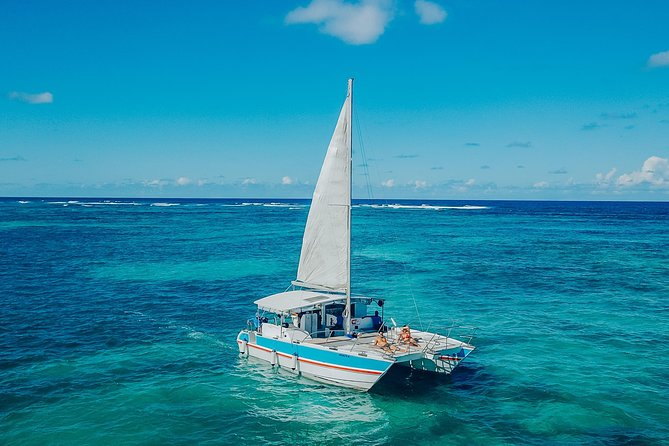 Private Catamaran Up To 10 Snorkeling & Deserted Beac Seafood lunch included