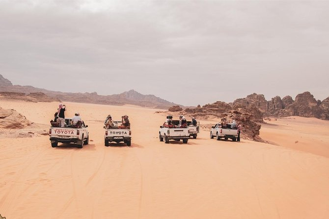One Day Petra & Wadi Rum for 3 Travelers