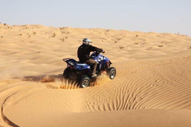 Half-Day Quad Biking in Douz Desert & Palm-grove