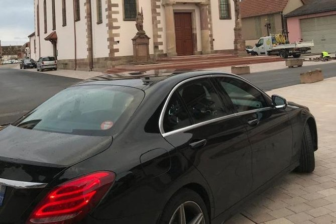 Private driver taxi Strasbourg - Mulhouse