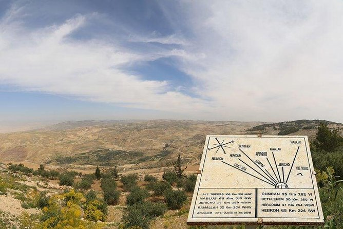 Half-Day Tour to Madaba and Mount Nebo from Amman