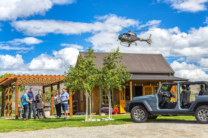 Heli Jeep Wine Tour from Queenstown, Central Otago