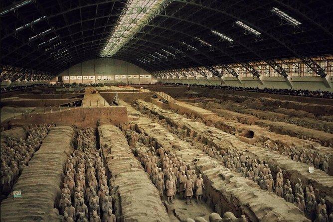 One Day Terracotta Warriors and Mountain Huashan Tour (None Shopping)