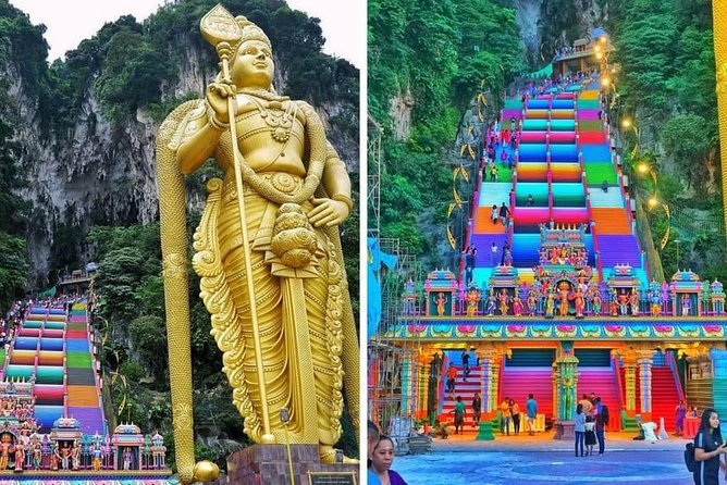 Batu Caves And Blue Mosque Tour From Kuala Lumpur photo 1