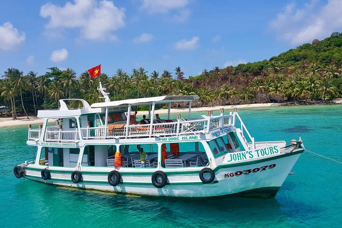 John's Tours Private boat: 3 islands Snorkeling trip Phu Quoc