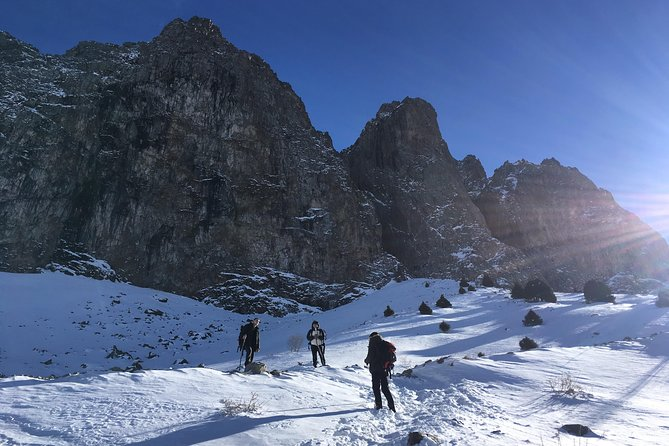 Winter Hiking to the Mynzhylki Plateau