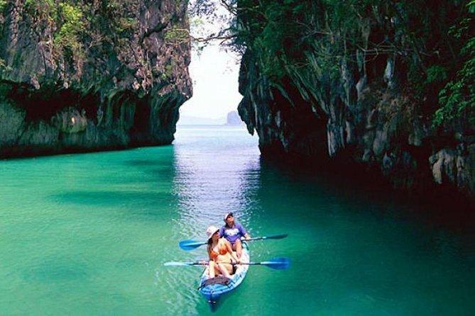 Hong Island by Sea Canoe at Phang-nga bay