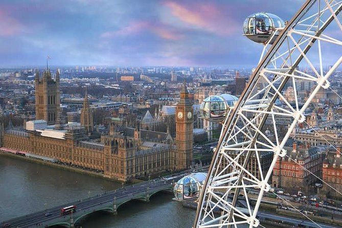 9Hr Tour Churchill War Rooms, London Eye and Westminster Abbey (Private Guide)