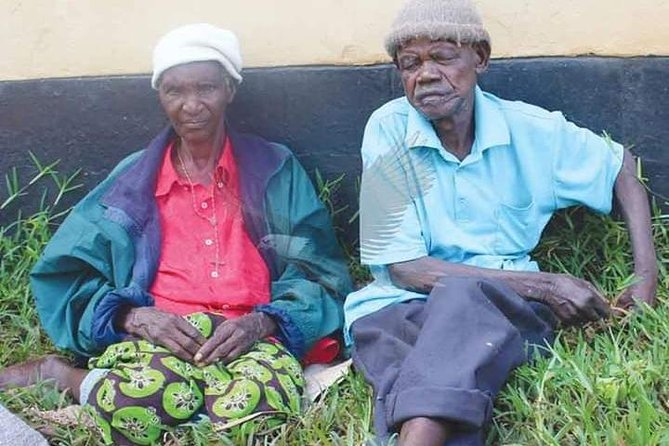 Libuyu Old People's Home Visit