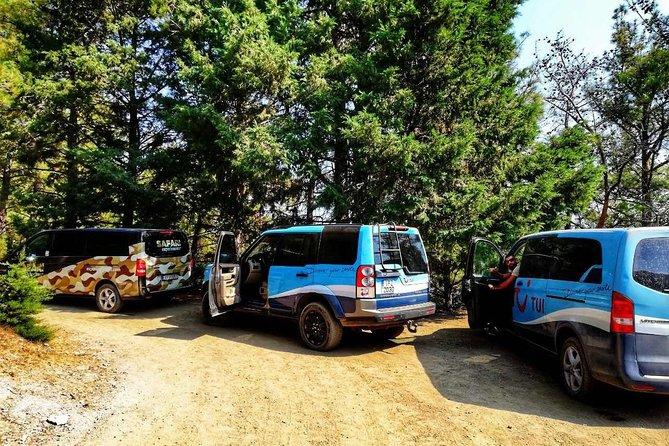 4x4 Safari Lagoon Private VIP Adventure in West Attica