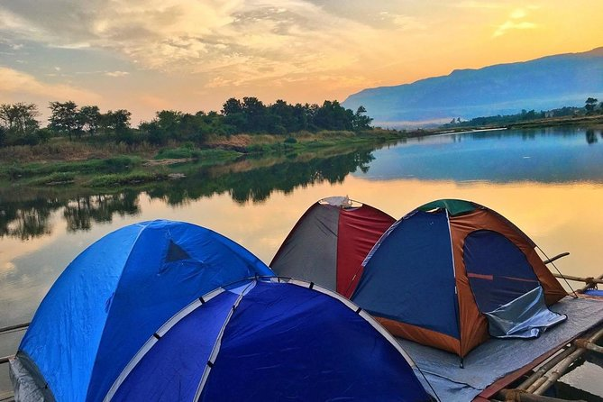 Camping in Floating Tents at Karjat
