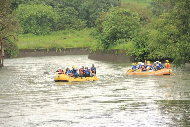 Rafting in Kolad with AC Luxury Tent Stay