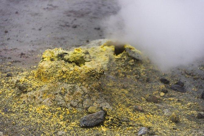 Fumarole Field of Mutnovsky volcano