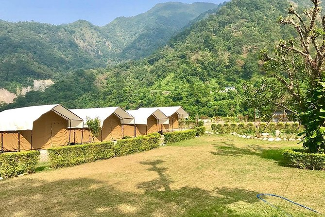 Riverside Swiss tent camping in Rishikesh (1N/2D) photo 1