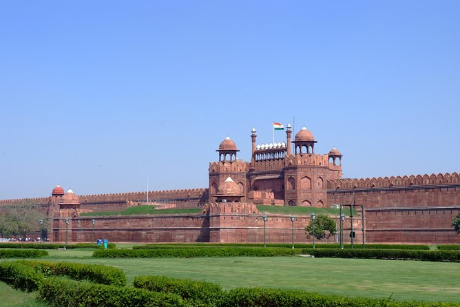 Delhi Red Fort Guided Walking Tour
