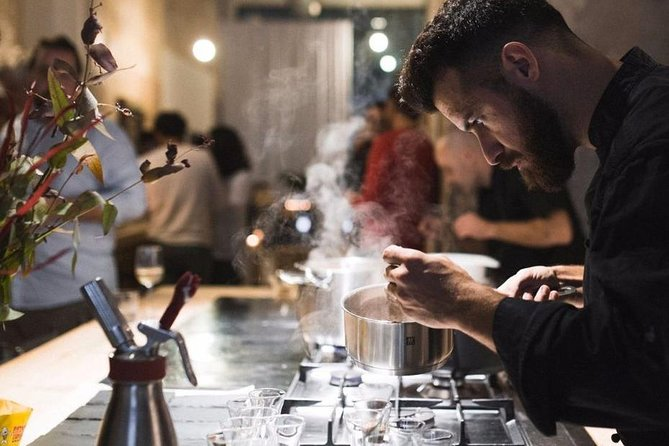 The FoodScape, mystery gourmet tasting menu and show cooking