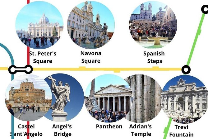 Instagram places in Rome: St. Peter, Trevi Fountain, Temple of Hadrian and more