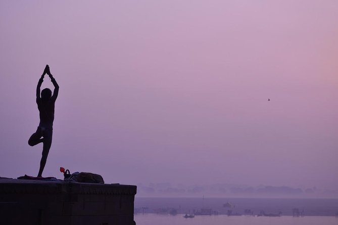 Yoga Session on the Ghats of Varanasi