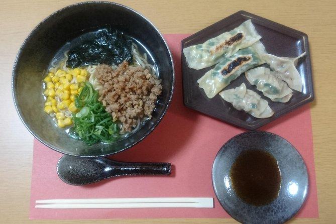 RAMEN and 2 types GYOZA (dumplings) Cooking Class