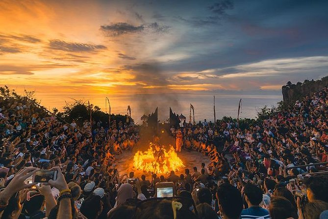 Uluwatu Temple Sunset and Kecak Fire Dance
