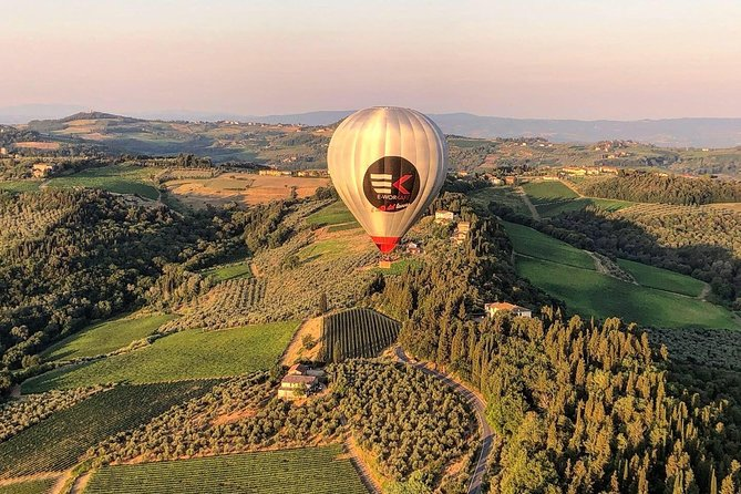 Private Tour: Tuscany Hot Air Balloon Flight with Transport from Firenze