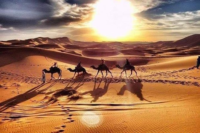 8- Days Marrakech to Fes via Desert Private Tour Package& airport transfers
