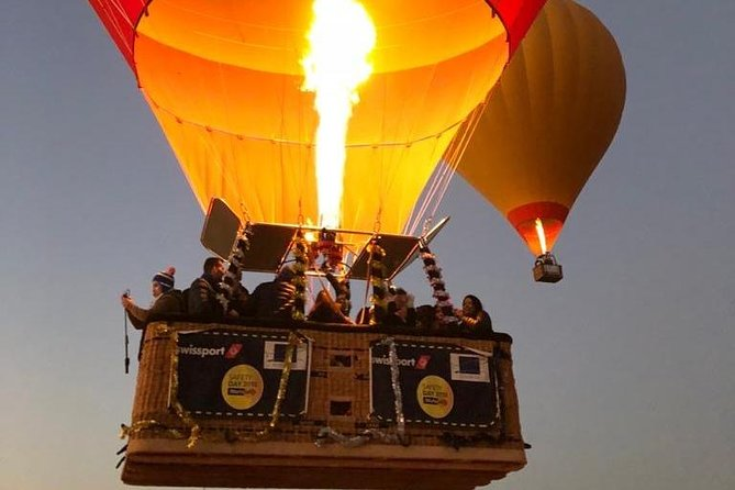 Sunrise Atlas Mountain Hot Air Balloon Ride From Marrakech