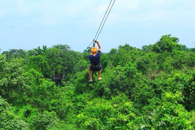 Atv's,(shared) Zipline & Cenote Combo 3 in 1 - from Cancun
