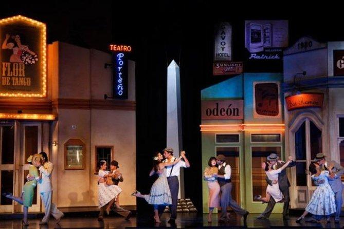 "Tango Show in ""Tango Porteño"" with optional dinner"