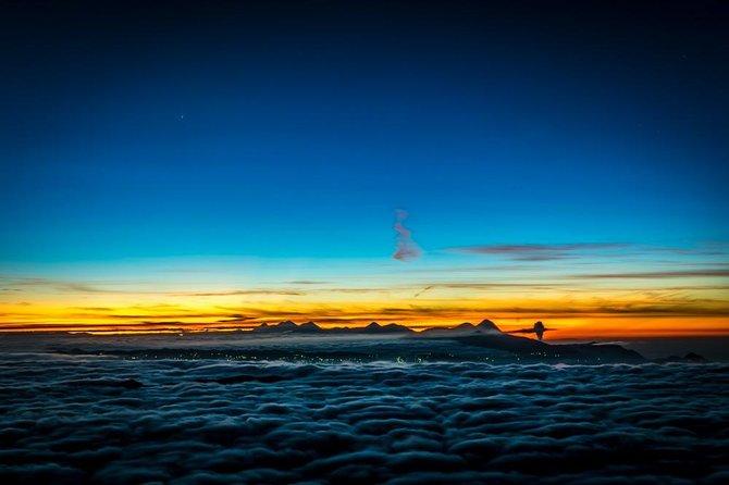 Sunrise on top