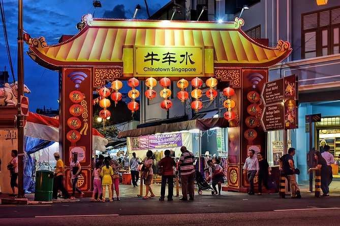 Singapore's Little India & Chinatown Walking Tour